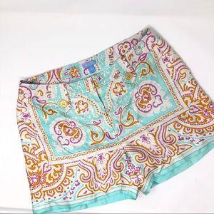 J. McLaughlin silk shorts